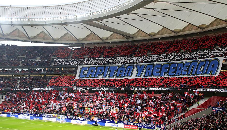 Temp. 18-19 | Atlético de Madrid - Espanyol | Homenaje a Gabi