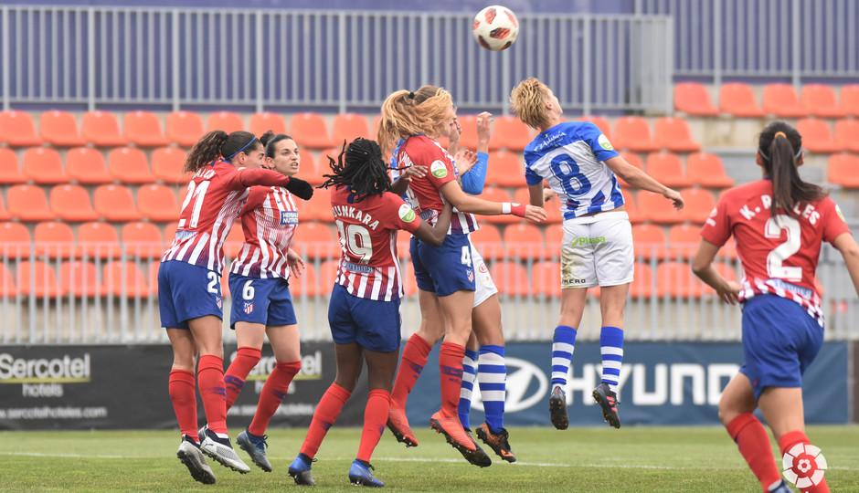 Temp. 18-19   Atlético de Madrid Femenino - Sporting de Huelva   Laia
