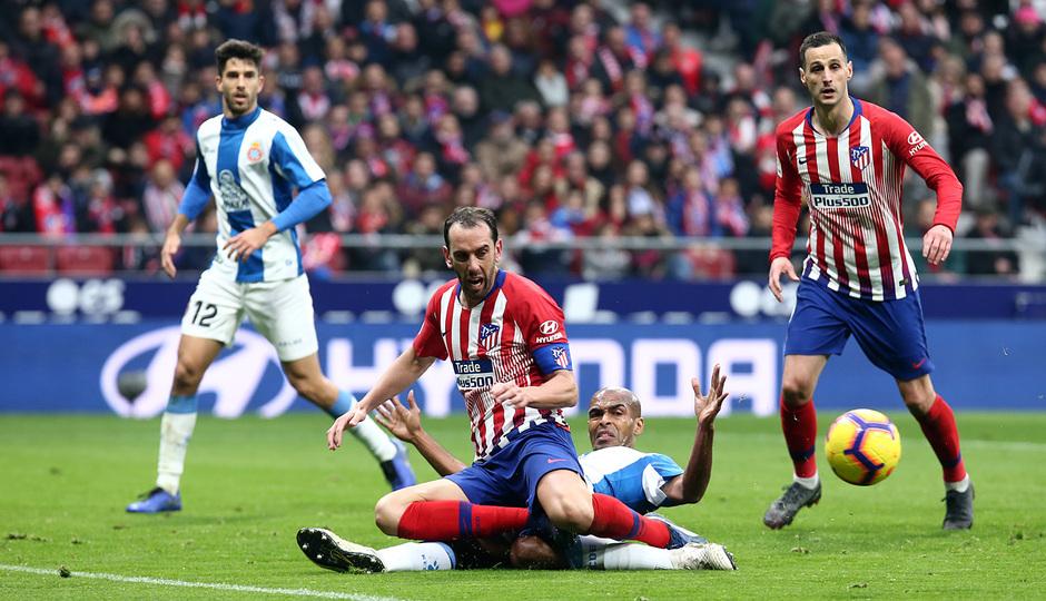 Temp. 18-19 | Atlético de Madrid - Espanyol | Godín