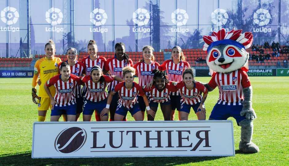 Temp. 18-19 | Atlético de Madrid Femenino - Athletic Club | Once