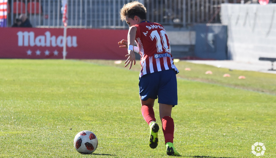 Temporada 2018-2019 | Atlético de Madrid Femenino - Athletic Club | Amanda