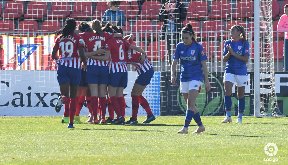 Temporada 2018-2019 | Atlético de Madrid Femenino - Athletic Club | Piña