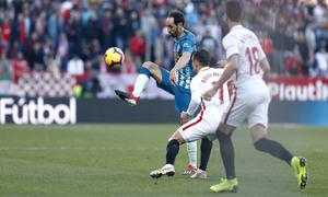 Temporada 2018-2019 | Atlético de Madrid - Sevilla | Juanfran