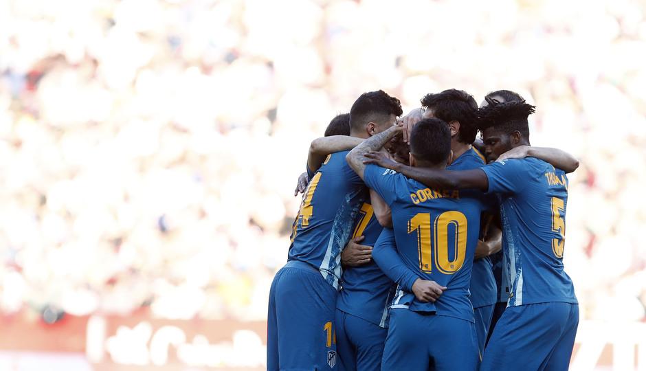 Temporada 2018-2019 | Atlético de Madrid - Sevilla | Celebración