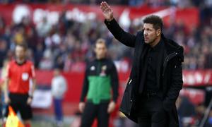 Temporada 2018-2019 | Atlético de Madrid - Sevilla | Simeone