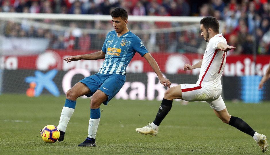 Temporada 2018-2019 | Atlético de Madrid - Sevilla | Rodrigo