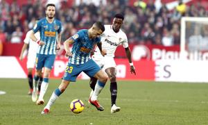Temporada 2018-2019 | Atlético de Madrid - Sevilla | Vitolo