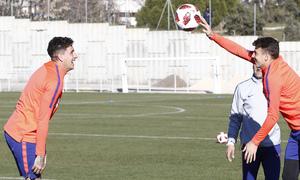 Temp. 18-19 | Entrenamiento Ciudad Deportiva Wanda | Giménez y Arias