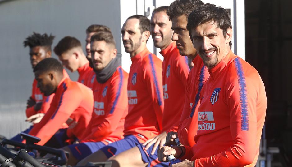 Temp. 18-19 | Entrenamiento Ciudad Deportiva Wanda | Savic