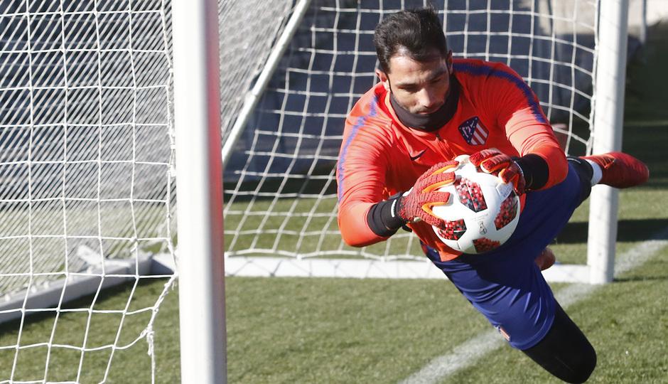 Temp. 18-19 | Entrenamiento Ciudad Deportiva Wanda | Adán