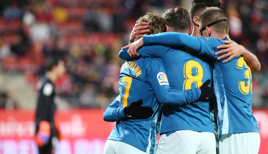 Temp. 18-19 | Girona - Atlético de Madrid | celebración