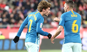 Temp. 18-19 | Girona - Atlético de Madrid | Griezmann y Koke