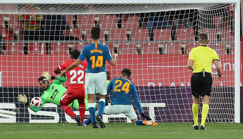 Temp. 18-19 | Girona - Atlético de Madrid | Adán
