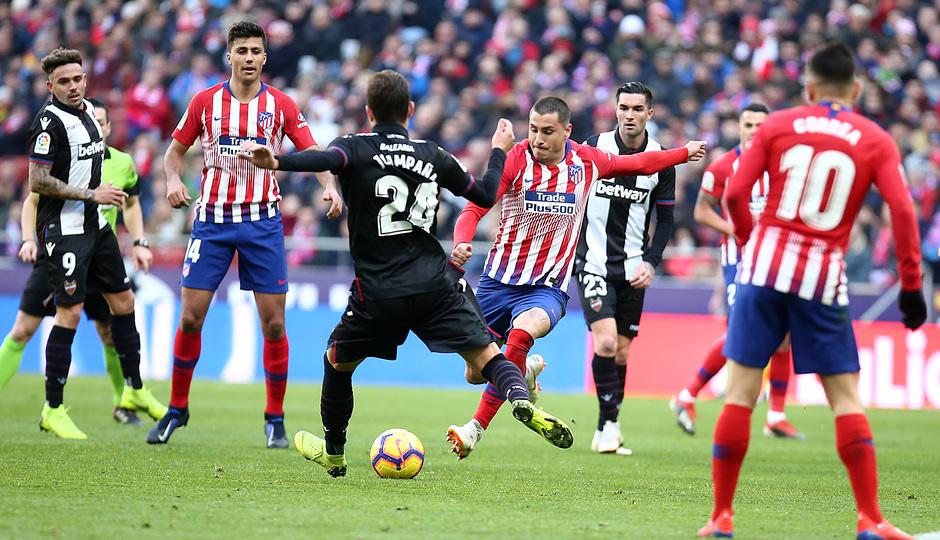 Temp. 18-19 | Atlético de Madrid - Levante | Giménez