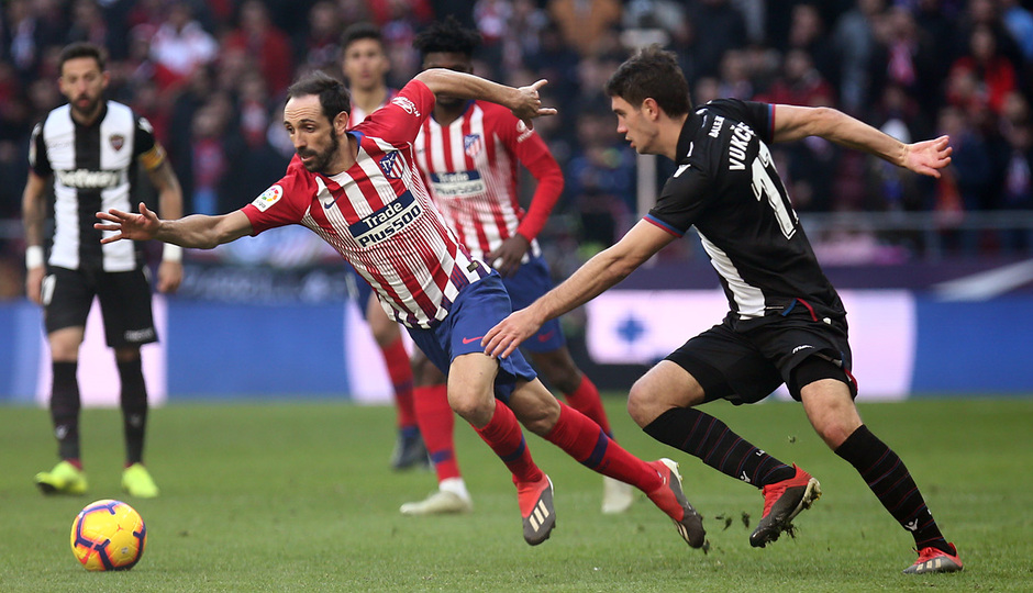 Temp. 18-19 | Atlético de Madrid - Levante | Juanfra
