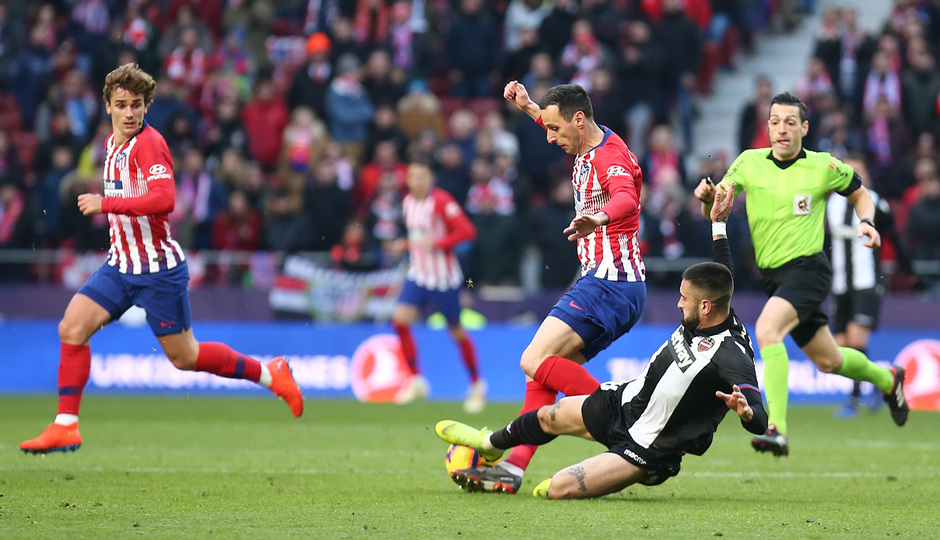 Temp. 18-19 | Atlético de Madrid - Levante | Kalinic