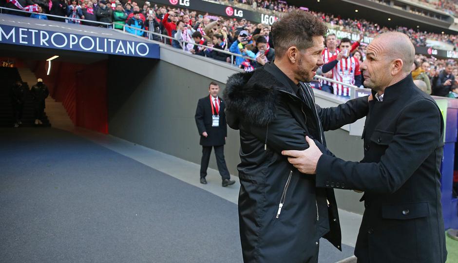 Temp. 18-19 | Atlético de Madrid - Levante | Simeone y Paco López