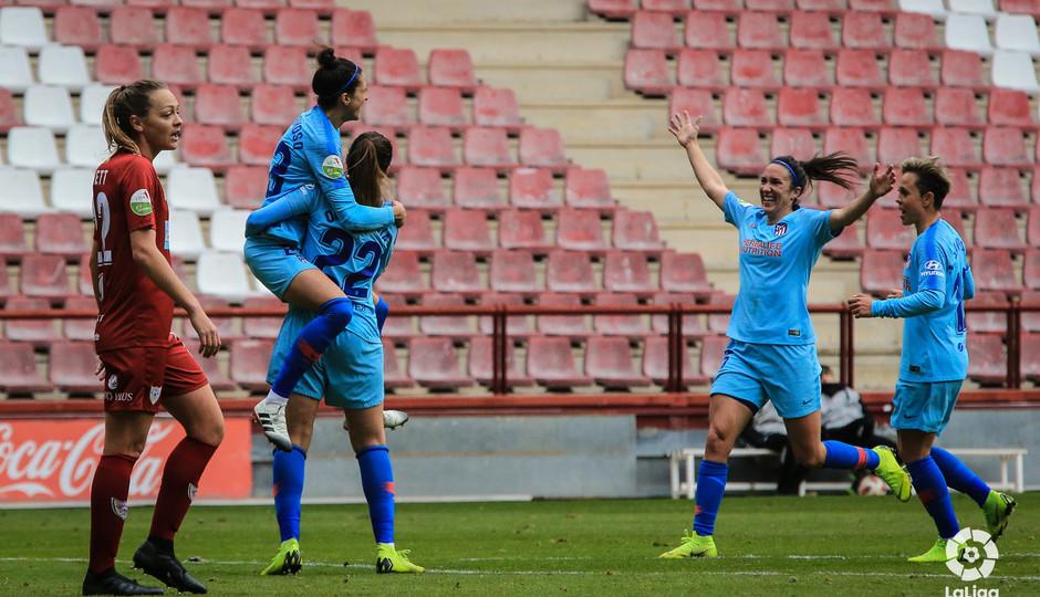 Temp. 18-19 | EDF Logroño - Atlético de Madrid Femenino | Celebración