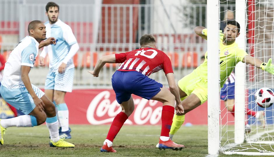 Temp. 18-19   Atlético de Madrid B - Unión Adarve   Borja Garcés