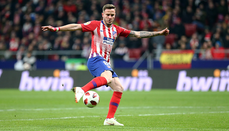 Temporada 18/19 | Atleti - Girona | Copa del Rey | Saúl