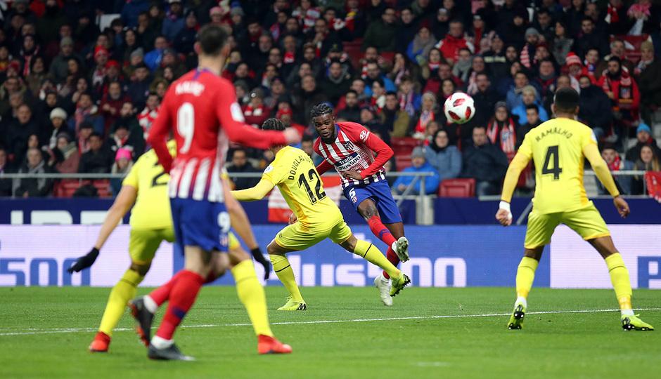 Temporada 18/19 | Atleti - Girona | Copa del Rey | Thomas