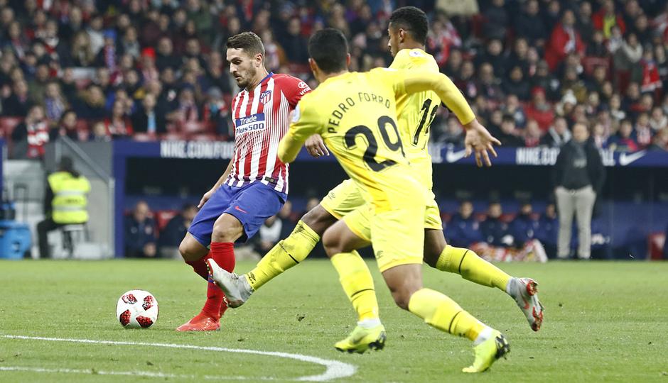 Temporada 18/19 | Atleti - Girona | Copa del Rey | Koke