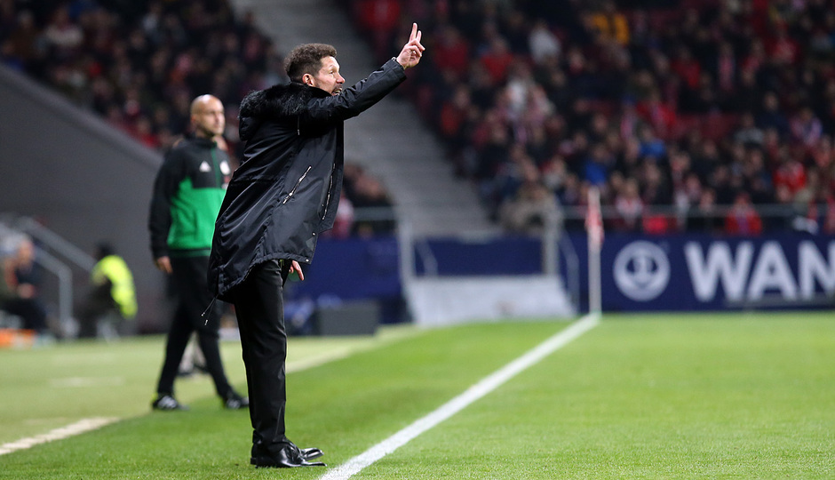 Temporada 18/19 | Atleti - Girona | Copa del Rey | Simeone