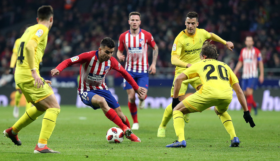 Temporada 18/19 | Atleti - Girona | Copa del Rey | Correa