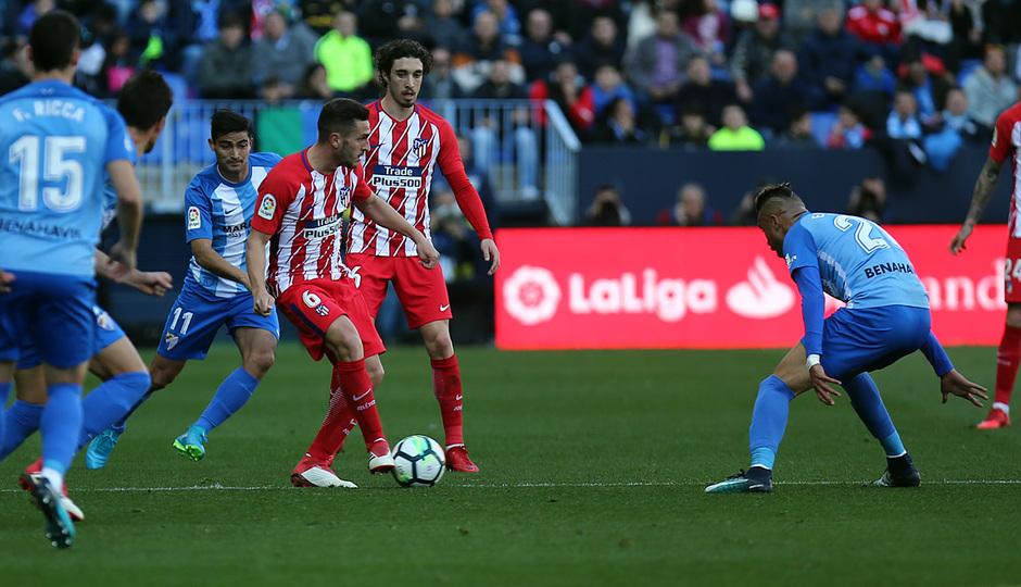 Temporada 18/19 | Koke 400 partidos | 350 partidos vs Málaga