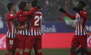 Temp. 18-19 | Huesca - Atlético de Madrid | celebración