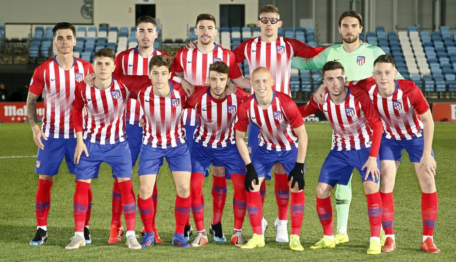 Temp. 18-19   Real Madrid Castilla - Atlético de Madrid   Once inicial