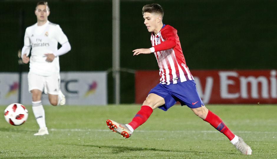 Temp. 18-19 | Real Madrid Castilla - Atlético de Madrid | Óscar Pinchi