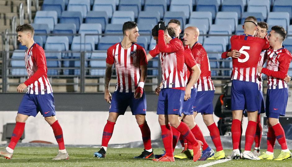 Temp. 18-19   Real Madrid Castilla - Atlético de Madrid   Gol