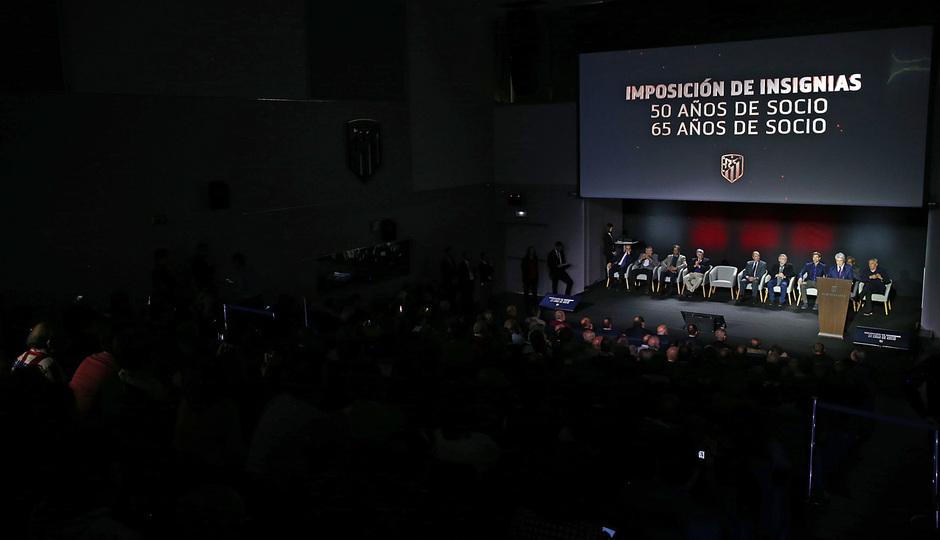 temporada 18/19. Acto imposición insignias. Auditorio