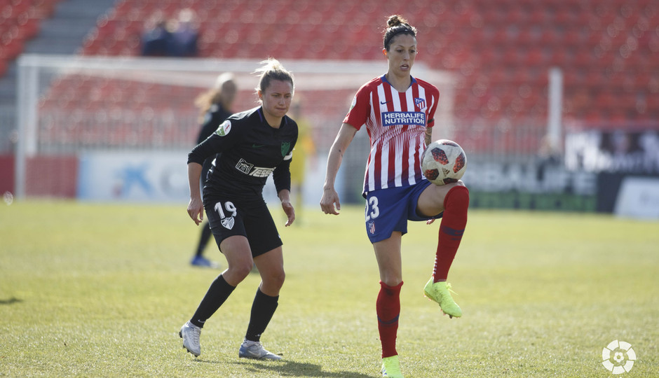 Temporada 18/19   Atlético de Madrid Femenino - Málaga   Jenni Hermoso