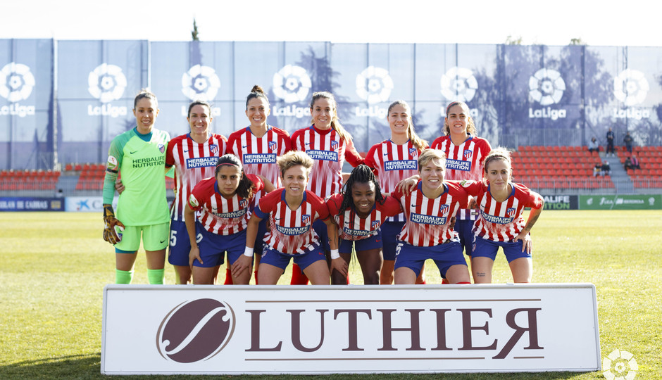 Temporada 18/19   Atlético de Madrid Femenino - Málaga   Once