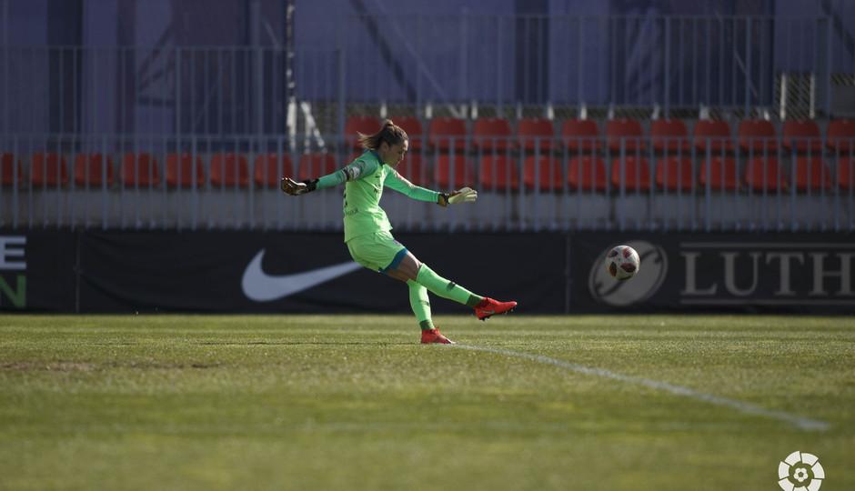 Temporada 18/19   Atlético de Madrid Femenino - Málaga   Lola Gallardo