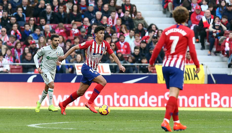 Temporada 18/19   Atlético de Madrid - Getafe   Rodrigo