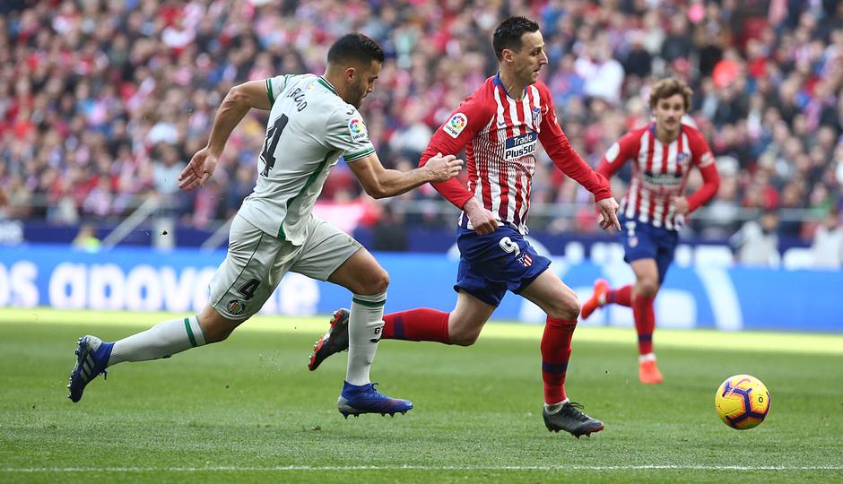 Temporada 18/19   Atlético de Madrid - Getafe   Kalinic