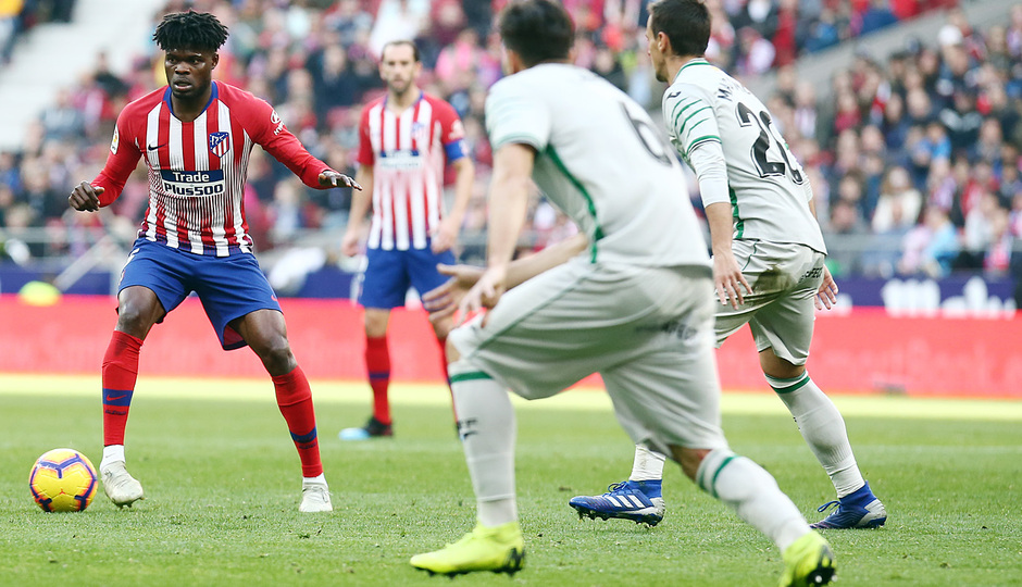 Temporada 18/19 | Atlético de Madrid - Getafe | Thomas
