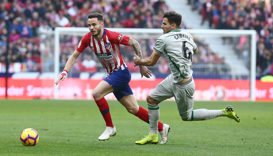 Temporada 18/19   Atlético de Madrid - Getafe   Saúl