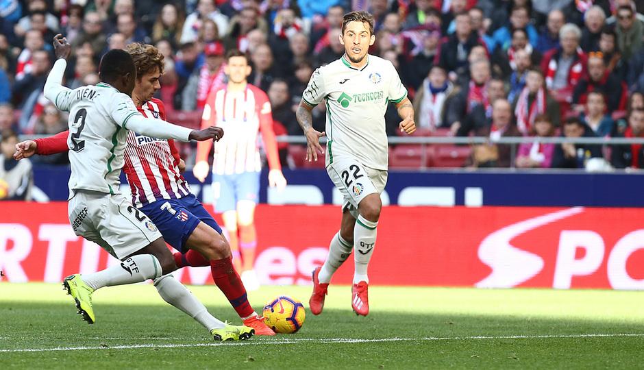 Temporada 18/19 | Atlético de Madrid - Getafe | Griezmann gol