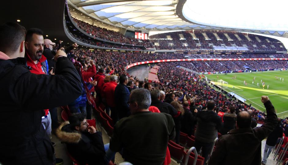 Temporada 18/19 | Atlético de Madrid - Getafe | Wanda Metropolitano afición