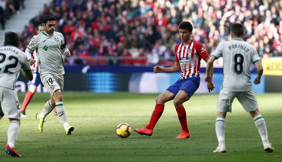 Temporada 18/19 | Atlético de Madrid - Getafe | Rodrigo