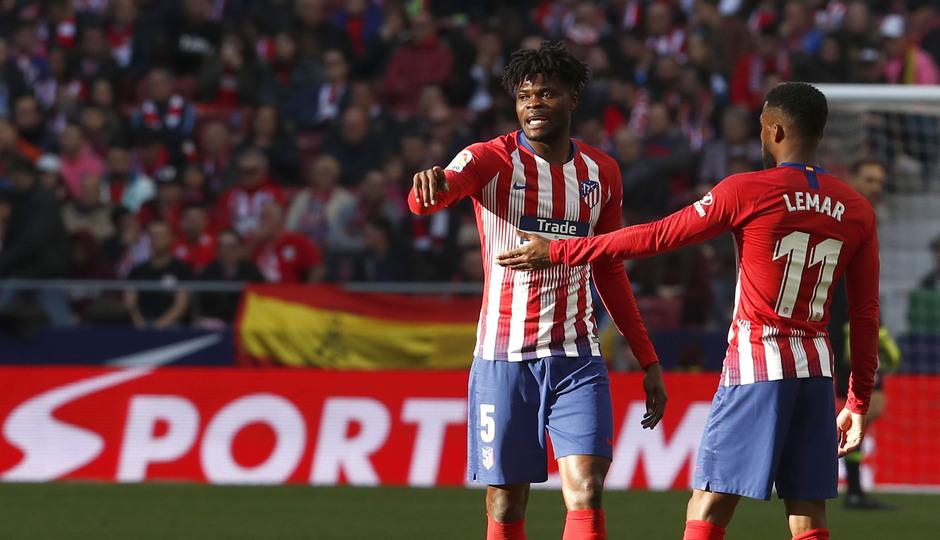 Temporada 18/19 | Atlético de Madrid - Getafe | Thomas y Correa