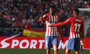 Temporada 18/19   Atlético de Madrid - Getafe   Thomas y Correa