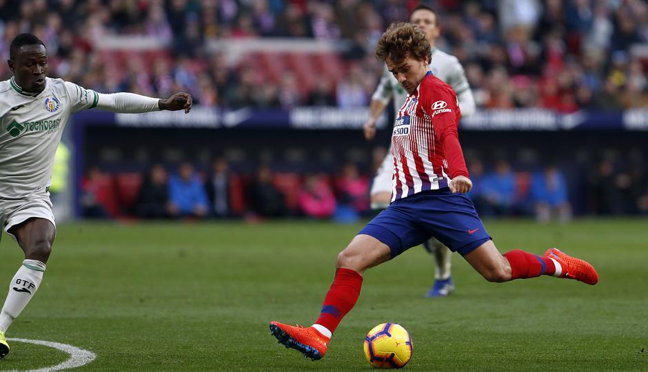 Temporada 18/19   Atlético de Madrid - Getafe   Griezmann