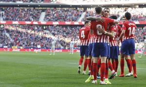 Temporada 18/19 | Atlético de Madrid - Getafe | celebración