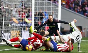 Temporada 18/19   Atlético de Madrid - Getafe   Oblak
