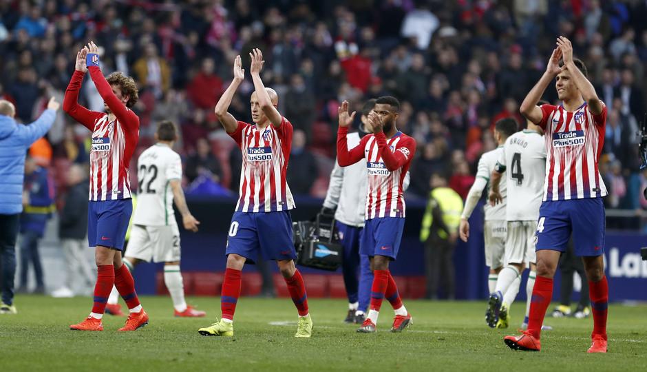 Temporada 18/19 | Atlético de Madrid - Getafe | Aplausos